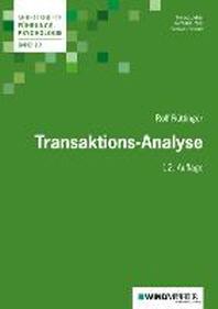 Ruettinger, R: Transaktions-Analyse