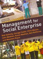 Management for Social Enterprise