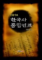 한국사 종합연표