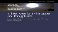 The Verb Phrase in English