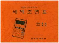세액조견표 2008