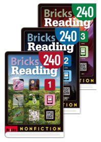 브릭스 리딩 Bricks Reading 240 논픽션 nonfiction 1,2,3 세트