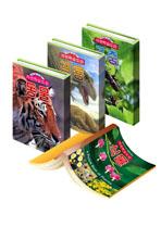 자연학습 도감 생물 세트 (전4권) - 식물/동물/공룡/곤충