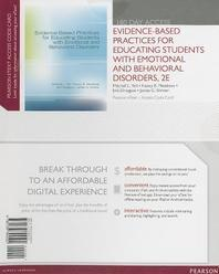 Evidence-Based Practices for Educating Students with Emotional and Behavioral Disorders, Pearson Etext -- Access Card