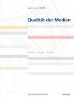 Jahrbuch 2016 Qualitat Der Medien