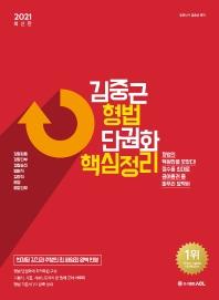 김중근 형법 단권화 핵심정리(2021)