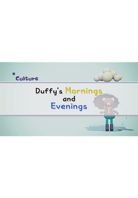 Duffy's Mornings and Evenings