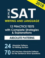 New SAT Writing and Language 12 Practice Tests with Complete Strategies and Expl