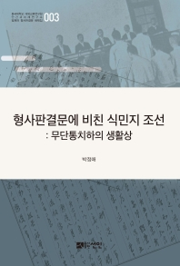 형사판결문에 비친 식민지 조선