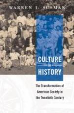 Culture as History