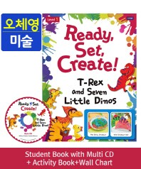 Ready, Set, Create! Level. 1: T-Rex and Seven Little Dinos(SB+Multi CD+AB+Wall Chart)