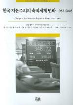 한국 자본주의의 축적체제 변화(1987-2003)