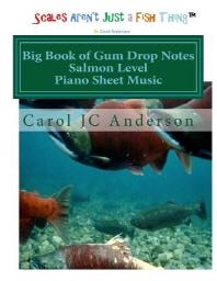 Big Book of Gum Drop Notes - Salmon Level - Piano Sheet Music
