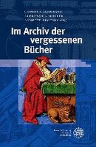 Im Archiv Der Vergessenen Bucher
