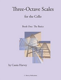 Three-Octave Scales for the Cello, Book One