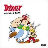 Asterix 2020 - Wandkalender im Quadratformat 24 x 24 cm