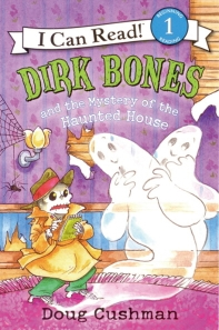 Dirk Bones and the Mystery of the Haunted House (Book+Audio CD)