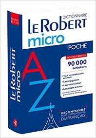 Dictionnaire Le Robert Micro poche (dic francais) (French Edition)