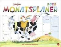 Helme Heine Monatsplaner Kalender 2022