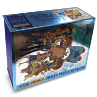 원피스 프리미엄 메탈 아이스 직소퍼즐 1000pcs: 겨울은 계절일뿐(2017 캘린더 한정판)