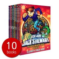 Secret Agent Jack Stalwart 10 Set