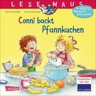 Conni backt Pfannkuchen