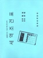 세액조견표(2009)