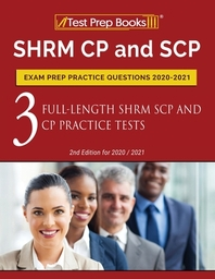 SHRM CP and SCP Exam Prep Practice Questions 2020-2021