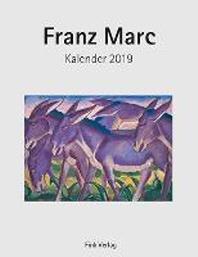 Franz Marc 2019. Kunstkarten-Einsteckkalender