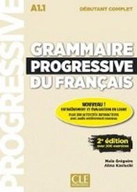 Grammaire progressive du francais - Niveau debutant complet. 2eme edition. Livre + CD + Web-App