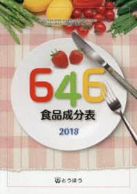 646食品成分表 2018
