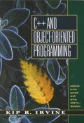 C++ and Object-Oriented Programming