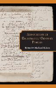Annotation in Eighteenth-Century Poetry