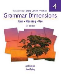 Grammar Dimensions, Book 4