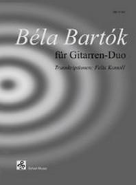 Bela Bartok fuer Gitarren-Duo