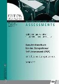 Benutzerhandbuch fuer das Occupational Self Assessment (OSA)
