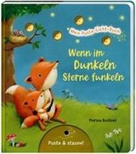Mein Puste-Licht-Buch: Wenn im Dunkeln Sterne funkeln
