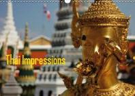 Thai Impressions (Wandkalender 2017 DIN A3 quer)