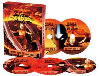 아바타 아앙의 전설(The Legend of A Ang-Avatar) 3집 5종 세트(DVD)