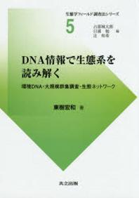 DNA情報で生態系を讀み解く 環境DNA.大規模群集調査.生態ネットワ-ク