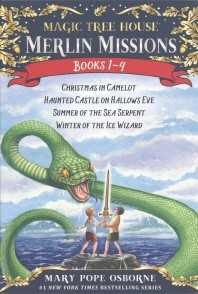 Magic Tree House Merlin Mission 1-4 Boxed Set