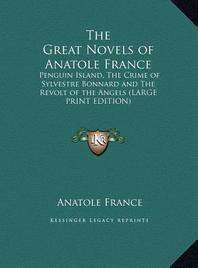 The Great Novels of Anatole France