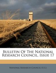 Bulletin of the National Research Council, Issue 17