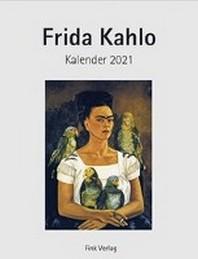 Frida Kahlo 2021. Kunstkarten-Einsteckkalender