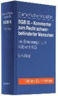 SGB IX - Kommentar zum Recht schwerbehinderter Menschen