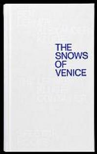 Schnee ueber Venedig