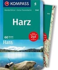 KOMPASS Wanderfuehrer Harz