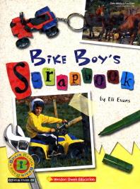 Brain Bank Bike Boys Scrapbook