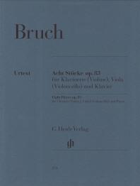 브루흐 클라리넷3중주 8개의소곡 Op.83(HN 853)