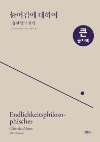 늙어감에 대하여(큰글자책)(그린비 빅북 시리즈)